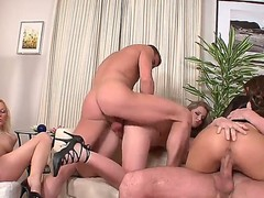 Awesome guys are having an amazing orgy with each other. Enjoy sexy Abigaile Johnson, Christina Lee, Cindy Dollar, Dillon and others fucking on camera.