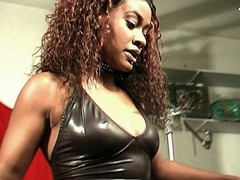 Sweet ebony Mercury Orbitz has an appetite for cock pleasuring. She's so hot with her sweet face and hot curves. Watch her show it off to a horny stud to seduce him into submitting his cock for some pampering using her luscious lips and willing pussy.