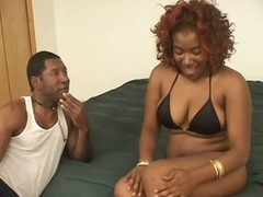 Wholly Busty Black Babe Renea Jacobs Gets a Shaving and a Hot Fuck