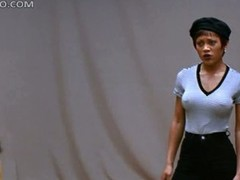 Beautiful Ebony Cosset Theresa Randle Doesn't Like Debilitating Bra