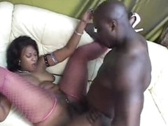 Wicked fat ass on black girl that loves black cock